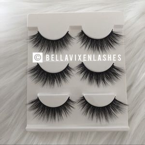Other - 3 Pairs Faux Mink Lashes Eyelashes